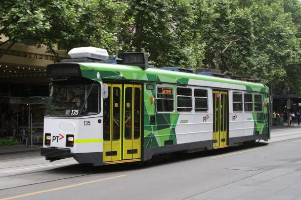 Z3.135 southbound at Swanston and Collins Street