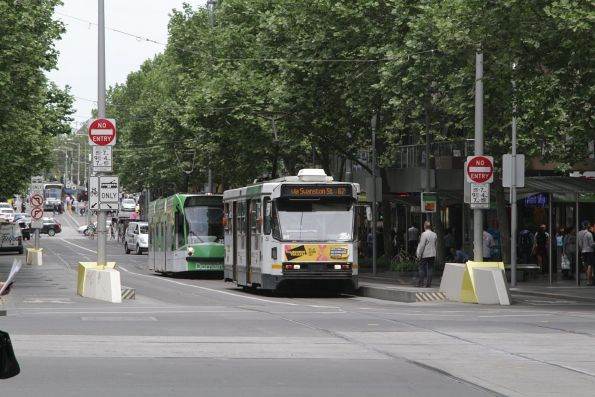 A1.256 northbound on route 67 at Swanston and Collins Street