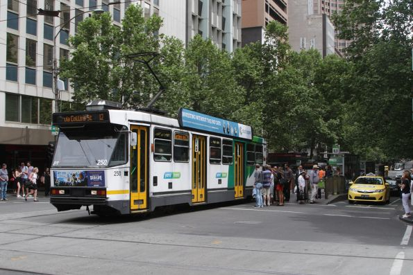 A1.250 eastbound on route 12 at Collins and Swanston Street
