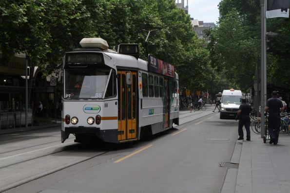 Z1.88 southbound on route 6 at Swanston and Collins Street