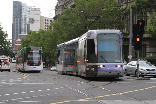 C.3002 on route 109 turns from Spencer into Collins Street