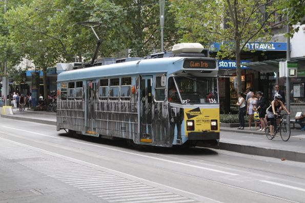 Z3.136 southbound at Swanston and Bourke Street