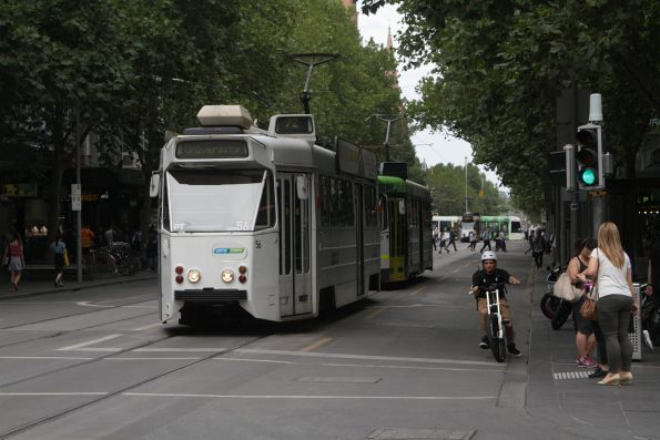 Z1.56 northbound at Swanston and Bourke Street