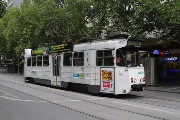 Z1.59 northbound at Swanston and Bourke Street