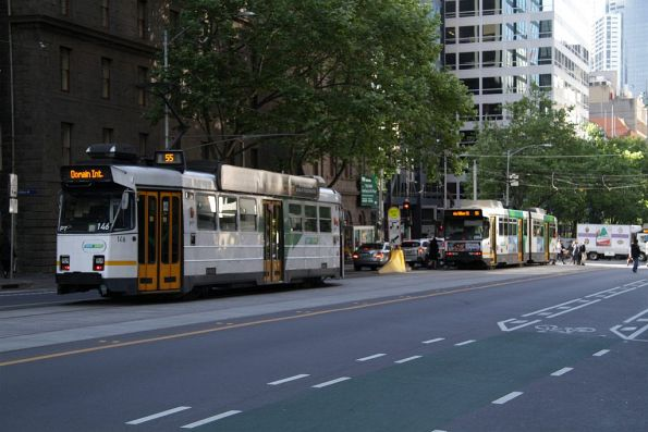 Z3.146 heads south on route 55 at William and Bourke Streets