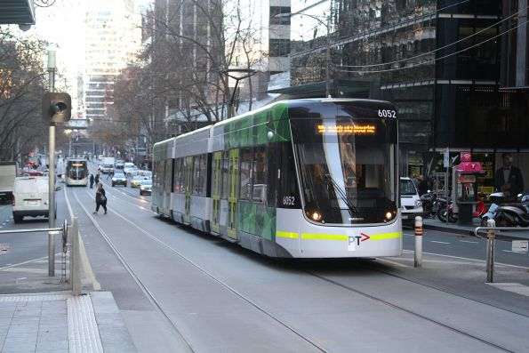 E2.6052 heads east on route 96 at Bourke and William Street