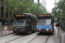 B2.2094 and B2.2053 on route 86 at Bourke and William Street