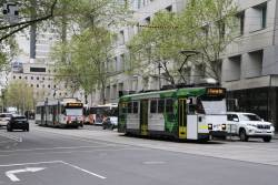 Z3.135 and B2.2073 heads south on route 58 at William and Lonsdale Street