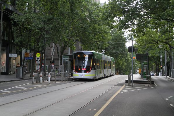 E2.6065 heads east on route 96 at Bourke and William Street