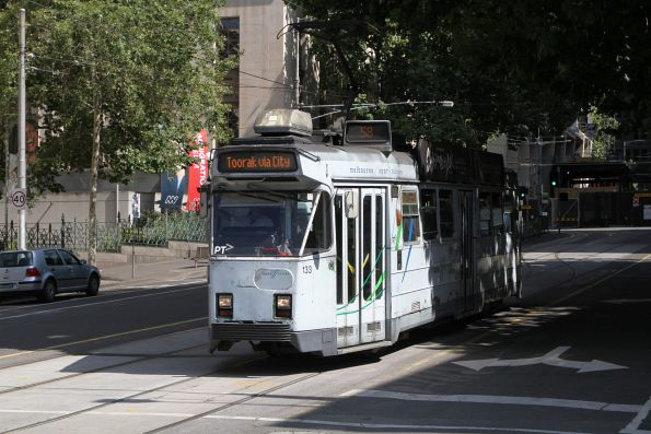 Z3.133 heads south on route 58 at Market and Flinders Street