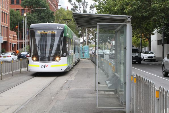 E2.6057 on route 86a terminates at Spencer and La Trobe Street