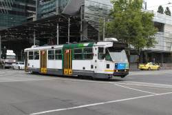 A1.235 terminates at Spencer and La Trobe Street