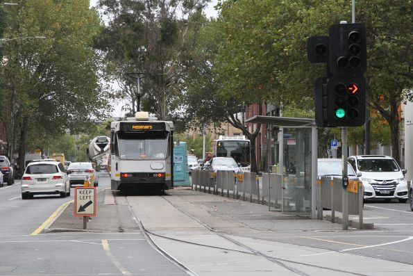 A1.245 in the Spencer Street terminus