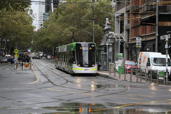 E.6038 on route 86 at Bourke and Spencer Street