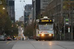 A1.252 heads west on route 30 at La Trobe and William Street