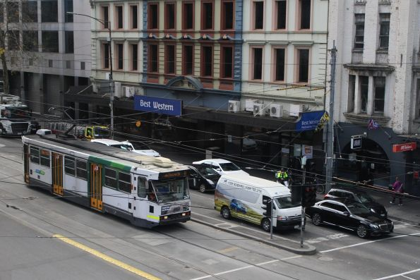 A1.247 heads south on route 12 at Spencer and Flinders Street