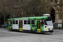 Z3.179 heads south on route 6 at Swanston and Flinders Street