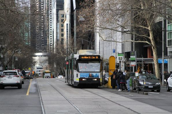 B2.2081 heads north on route 58 at William and Lonsdale Street