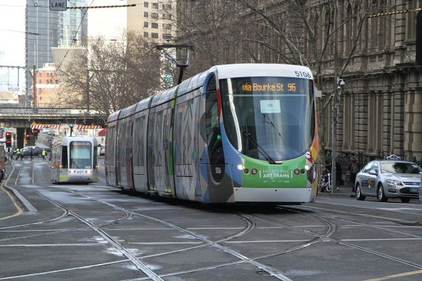 C2.5106 heads north on route 96 at Spencer and Collins Street