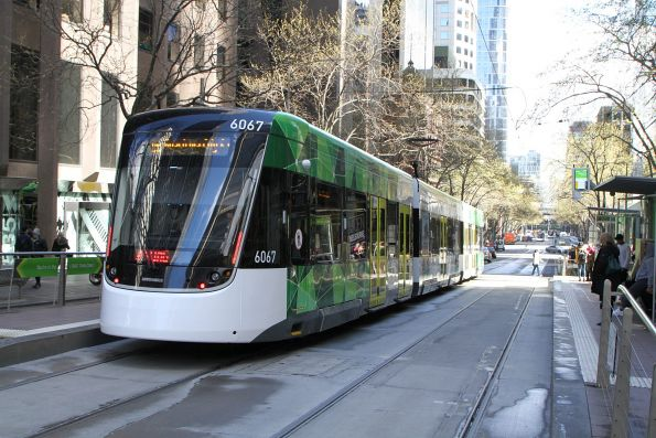 E2.6067 heads west on route 96 at Bourke and William Street