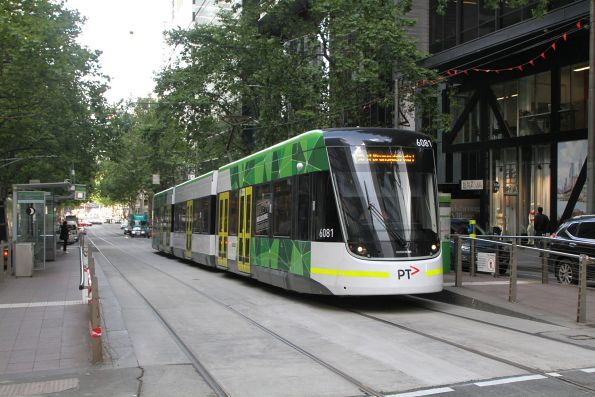 E2.6081 heads east on route 96 at Bourke and William Street