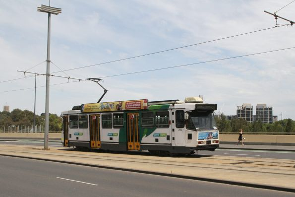 A2.284 heads north on route 70 along Exhibition Street