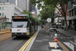 B2.2030 heads north on route 58 at William and La Trobe Street