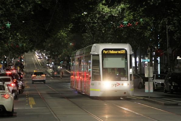 C.3004 heads west on route 109 at Collins and Elizabeth Street