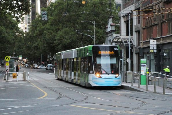 E.6010 on route 86 at Bourke and Spencer Street