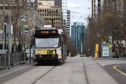 A2.287 southbound at William and La Trobe with a route 67a service