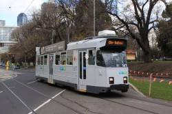 Z3.167 in a fresh Yarra Trams Mk3 livery, but with new YT logos