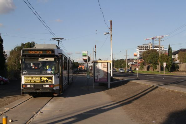 B2.2097 on a route 57a service at the West Maribyrnong terminus
