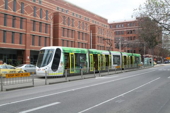 Yarra Trams - diverted and out of place
