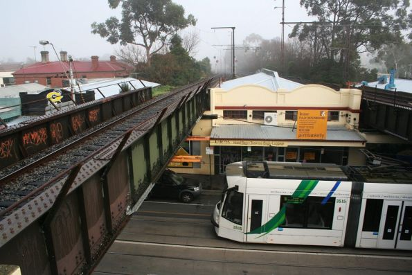 D1.3515 on Glenferrie Road below Glenferrie Station