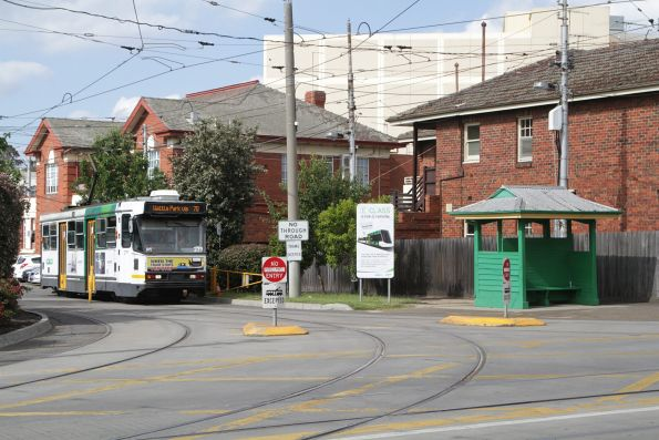 A2.279 ready to run out of Camberwell Depot with a route 70 service to Wattle Park