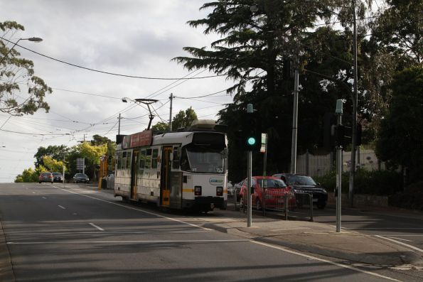 Z3.153 awaiting departure time from the route 72 terminus in Burke Road