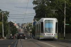C.3022 heads along Whitehorse Road in Balwyn with a route 109 service to Kew Depot