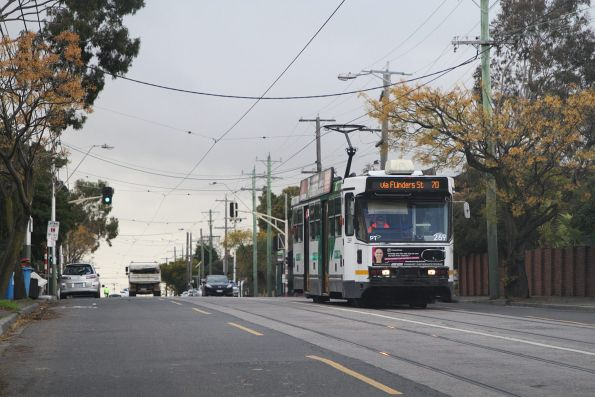 A2.269 heads west on route 70 at Riversdale Junction