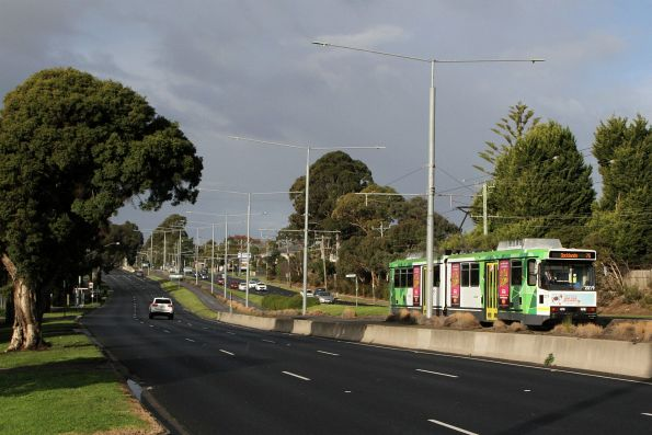 Saturday, 13 July - B2.2019 heads west on route 75 at Burwood Highway and Blackburn Road