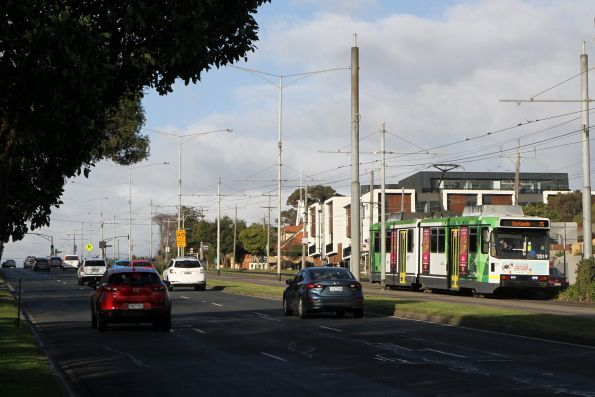 B2.2019 heads west on route 75 at Burwood Highway and Station Street