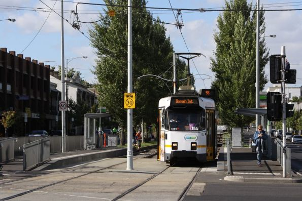 Z3.154 southbound on route 55 at Peel and Victoria Streets