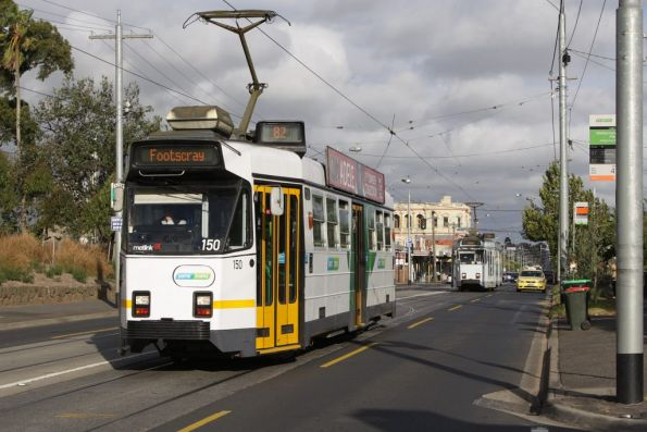 Z3.150 westbound on route 82 on Maribyrnong Road