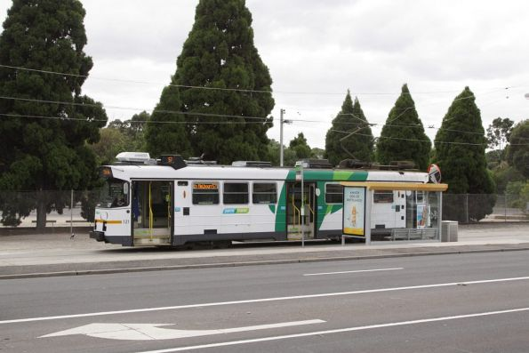 Z3.121 awaits departure time from the West Maribyrnong terminus