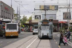 Z3.229 arrives into the Footscray terminus