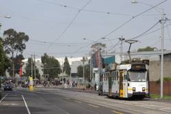 Z3.186 passes Showgrounds Loop in Ascot Vale