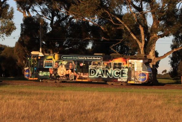 Z3.166 in Royal Park advertising 'Everybody Dance Now'