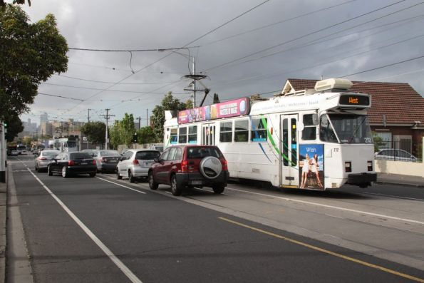 Heading up Mount Alexander Road, Z3.212 heads for Moonee Ponds