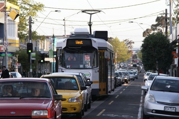 Z3.154 stuck in traffic on Union Road, Ascot Vale