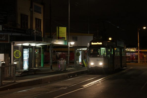 Z3.228 awaits departure time from the route 82 terminus at Footscray