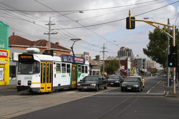 Z3.194 on route 57 ex-Essendon Depot, heading north on Mount Alexander Road bound for Moonee Ponds Junction